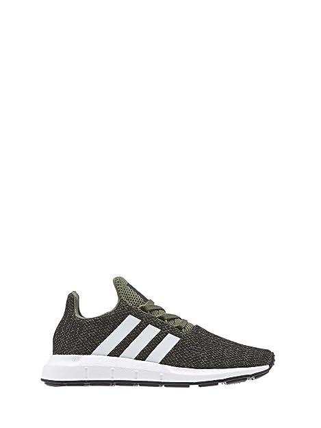 4a9d01ab11 adidas Zapatillas de Niño Swift Run C Verde  Amazon.es  Zapatos y  complementos