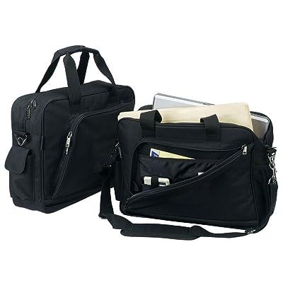 Black Laptop Computer Briefase Bag