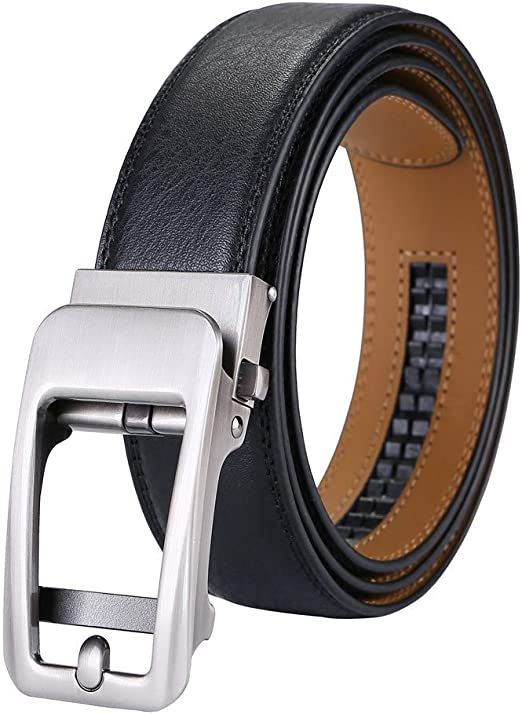 Belt Leather Automatic Buckle Waist Strap Casual Classic Luxury Vintage 2019