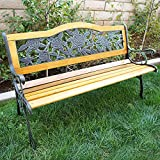 Features:  - Perfect for garden, park, deck, porch, backyard or pools  - Strong, Sturdy And Comfortable To Seat  - Modern style fits with any backyard or home  - Ergonomic seating design  - Constructed with high quality and sturdy hardwood an...