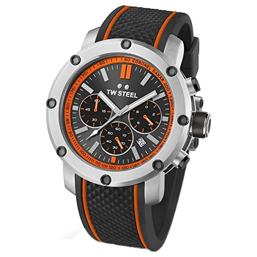 Reloj De Pulsera Unisex TW Steel - Dakar Edition 48 mm de TS8: Amazon.es: Relojes