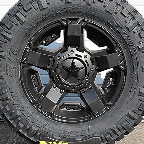 amazon com wheel tire package 18x9 xd series xd811 rockstar ii