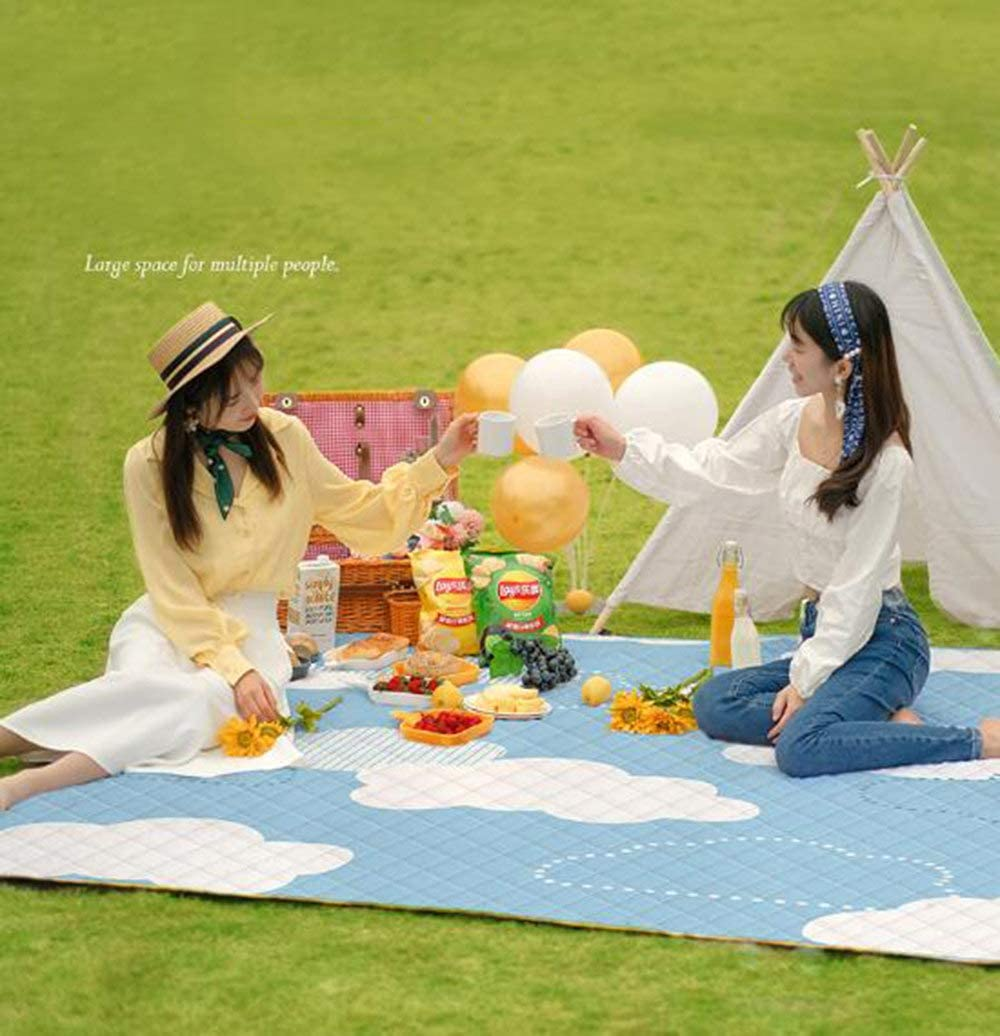 WPPD Coperta da Picnic Materassino da Campeggio Impermeabile Materassino per Dormire, B, 140 * 195 cm A-140*195cm
