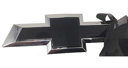 Qbc Craft Chevy Bowtie Emblem Vinyl Overlay (3 Pack) Gloss Black Metallic  3M Cut-Your-Own Car Wrap Kit DIY GM Logo Easy to Install air Release Film