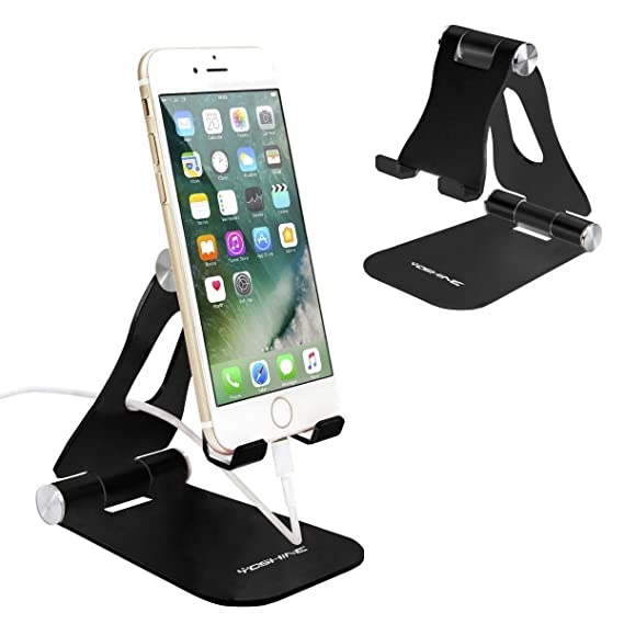 0fb61450b4 Cell Phone Stand,iPhone Stand Adjustable iPad Stand Tablet Stand Desk Cell  Phone Holder Foldable