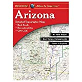 Garmin Delorme Atlas & Gazetteer Paper Maps- Arizona, AA-000005-000