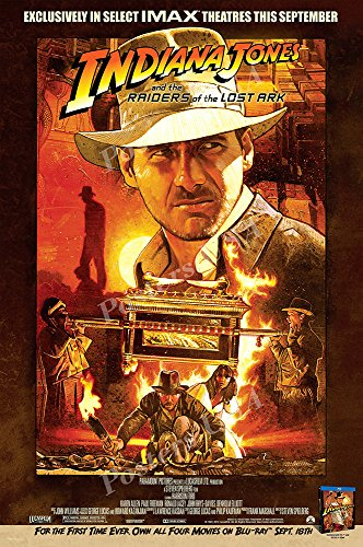 Posters USA - Indiana Jones Raiders of the Lost Ark Movie Poster - MOV056 (24