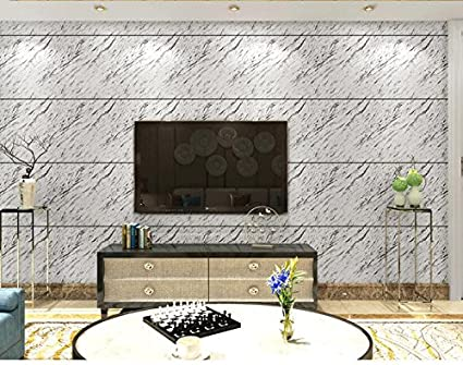 Yosot imitazione moderna piastrelle di marmo carta da parati a