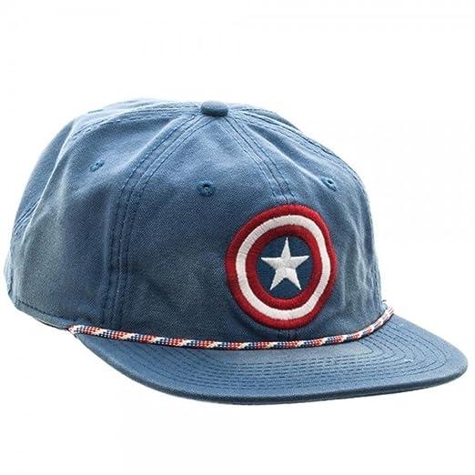 100% authentic a3817 72159 Amazon.com  Marvel Captain America Washed Unstructured 6 Panel Snapback  Baseball Cap (Marvel 1)  Clothing
