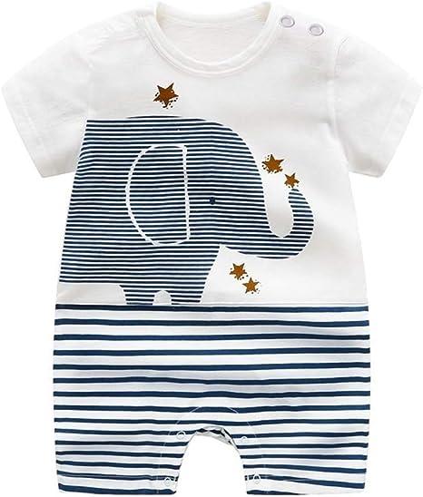 Juguete para bebé de ALLAIBB, ropa de bebé de algodón orgánico, pelele para bebé, niña, como camiseta polo, pantalón corto o pijama de verano (0 – 24 meses) blanco Blanco Talla:59CM: Amazon.es: