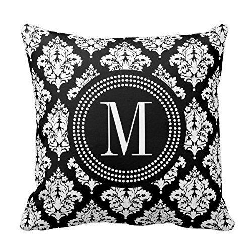 Decors Elegant Damask Personalized Pillows product image