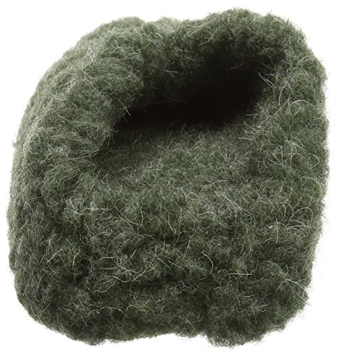 Woolsies Hedgehog Natural Wool, Pantuflas Unisex Adulto Verde (Green)