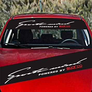 Auto SUV Lettere Decalcomania Decorativa Universal Car Anteriore Parabrezza stallo Auto Vetro Auto Auto Parasole Auto Parabrezza Impermeabile