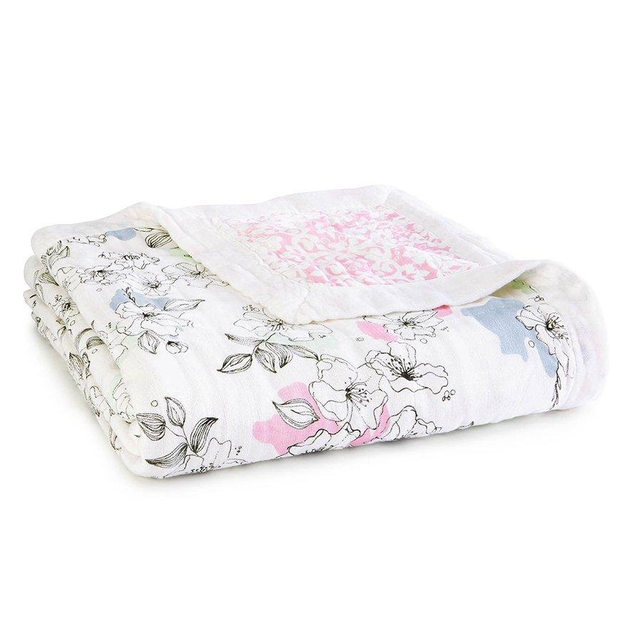 Aden + Anais Silky Soft Dream Blanket, Meadowlark