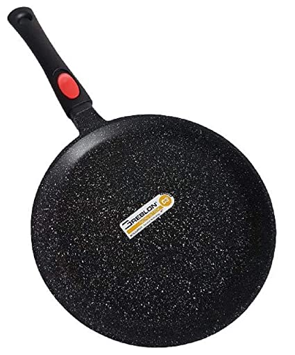 Cflagrant® - Sartén para Crepes/Tortitas/skeppshult 28 cm Piedra ...