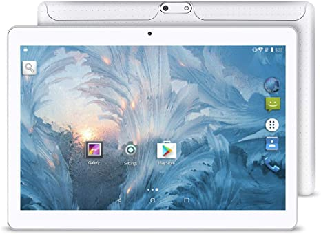 Upgrade - YUNTAB 10.1 inch Android Tablet PC, 2GB RAM 16GB ROM, 1.3 GHz Quad Core CPU, WiFi/Unlocked 3G Connection, IPS Touch Screen,with Dual SIM ...