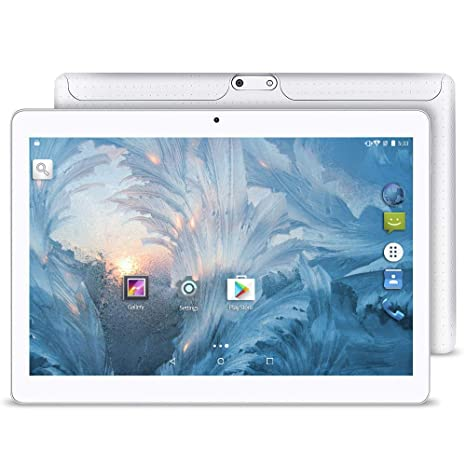 Upgrade - YUNTAB 10.1 inch Android Tablet PC, 2GB RAM 16GB ROM, MTK6580 1.3GHz Quad Core CPU, WiFi/Unlocked 3G Connection, IPS Touch Screen,with Dual ...