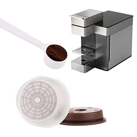 Recargables reutilizable filtro de café ILLY – juego de 2 Cápsulas de café ILLY Compatible con