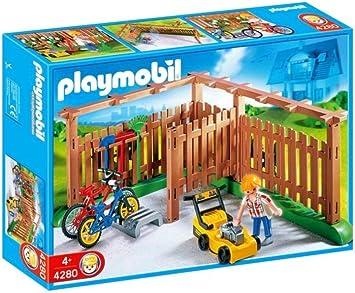 PLAYMOBIL 4280 - Patio: Amazon.es: Juguetes y juegos