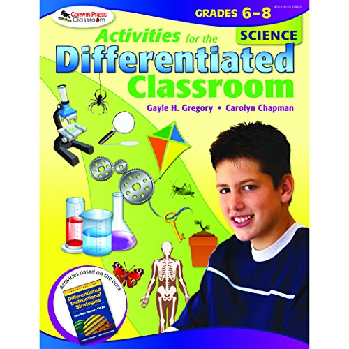 Activities for the Differentiated Classroom: Science, Grades 68