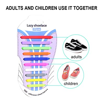 Htt no tie shoelaces for adults tieless elastic silicone no tie htt no tie shoelaces for adultstieless elastic silicone no tie shoelaces for sneakers running ccuart Images