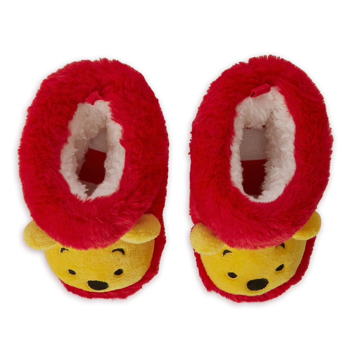 Disney Store Winnie The Pooh Baby Soft Fluffy Shoes