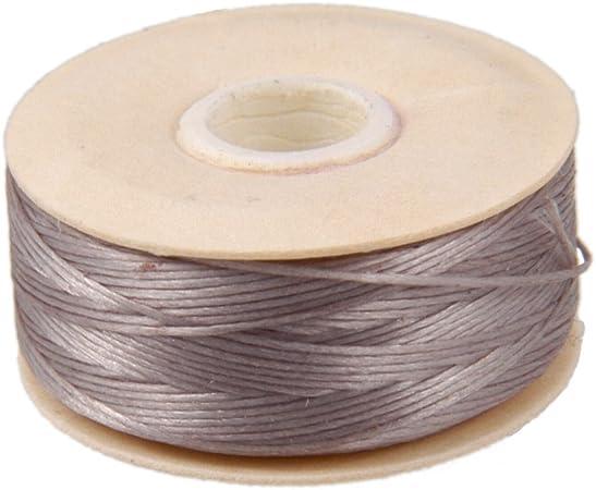 Bianco 58,5/m Nymo Nylon Beading Thread Size D for Delica Beads