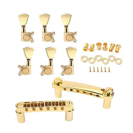 SUPVOX 1 Sets de partes de guitarra Afinadores de afinación de ...