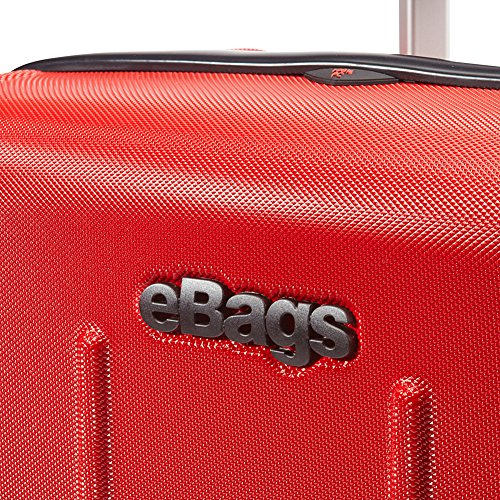 eBags EXO 2.0 Polycarbonate Hardside 8 Wheel Spinner Luggage with TSA Lock - 22-inch - Carry-On - (Brushed Graphite)