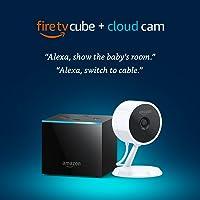 Amazon Fire TV Cube + Cloud Cam Security Camera