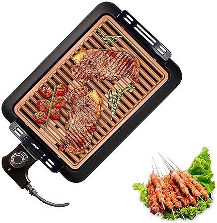XNDCYX Barbecue Electrique De Table, Grille Barbecue
