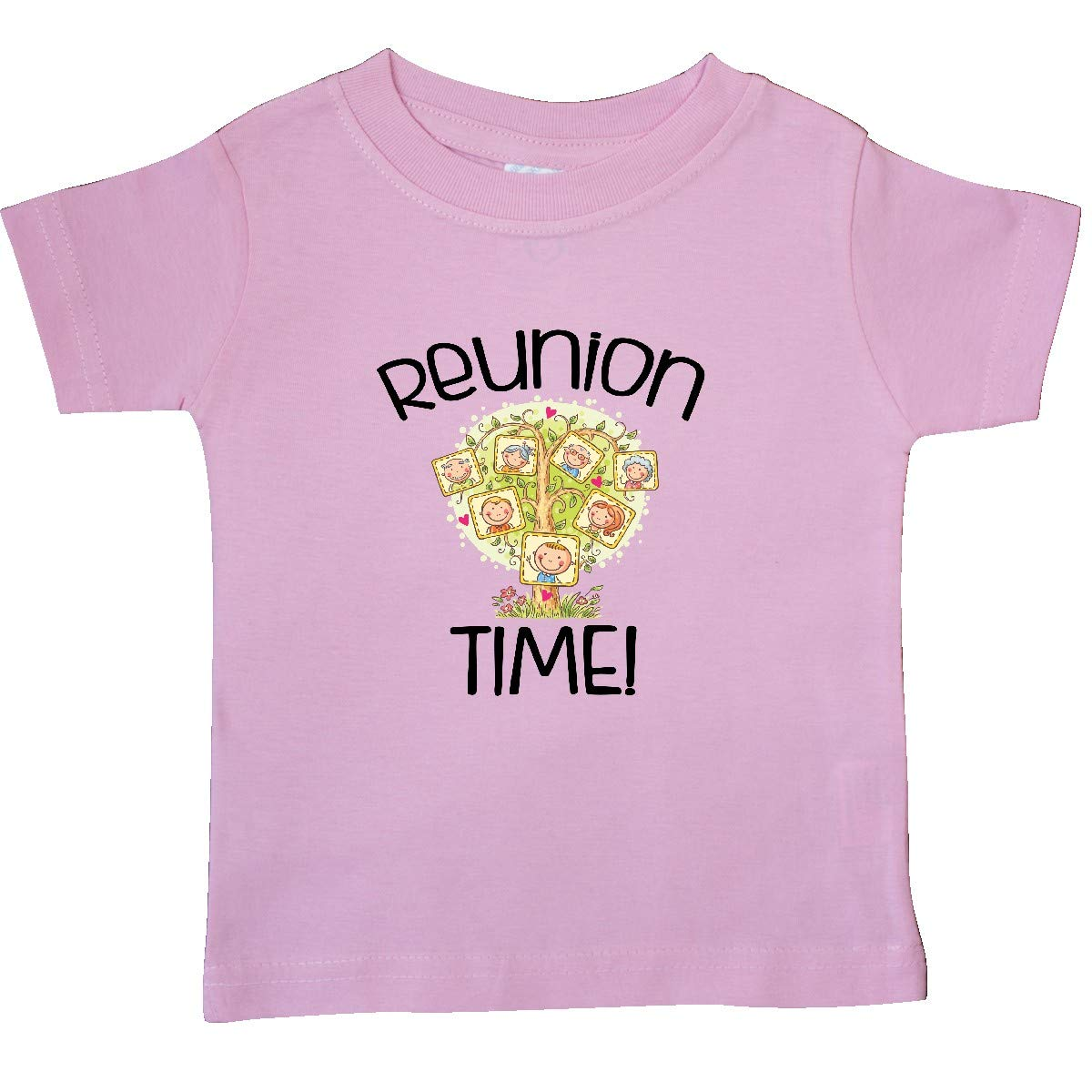 inktastic Family Reunion Time Family Tree Baby T-Shirt