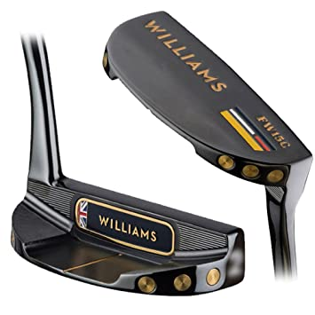Williams golf Putter Oxfordshire fresada negro 2016 derecho ...