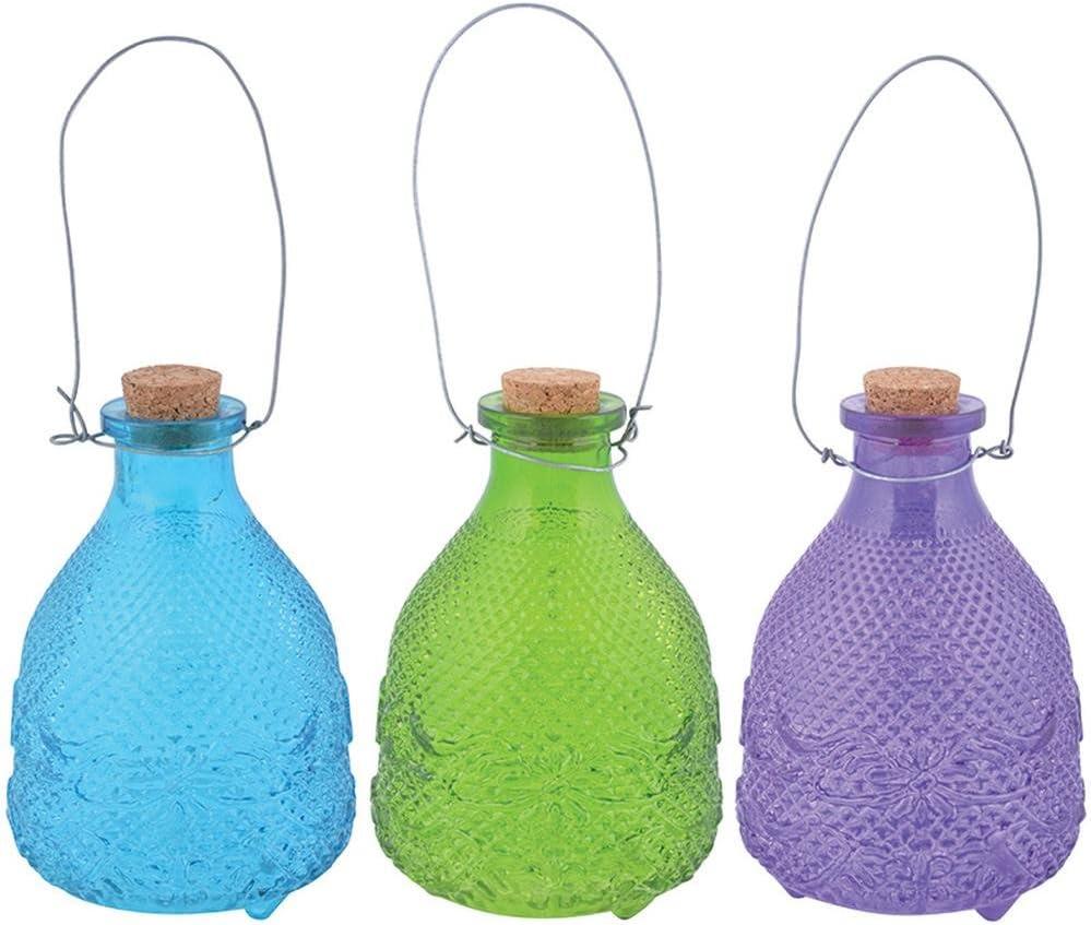 Esschert Design EG19 Wasp Trap Hobnail Glass, 3 Colors