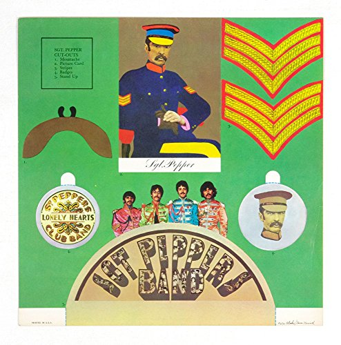(The Beatles Sgt. Pepper's Lonely Hearts Club Band 12x12 Album Promo Poster)