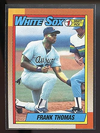 1990 Topps 414 Frank Thomas Chicago White Sox Rookie Card