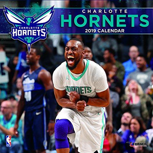 Turner 1 Sport Charlotte Hornets 2019 12X12 Team Wall Calendar Office Wall Calendar (19998011872)
