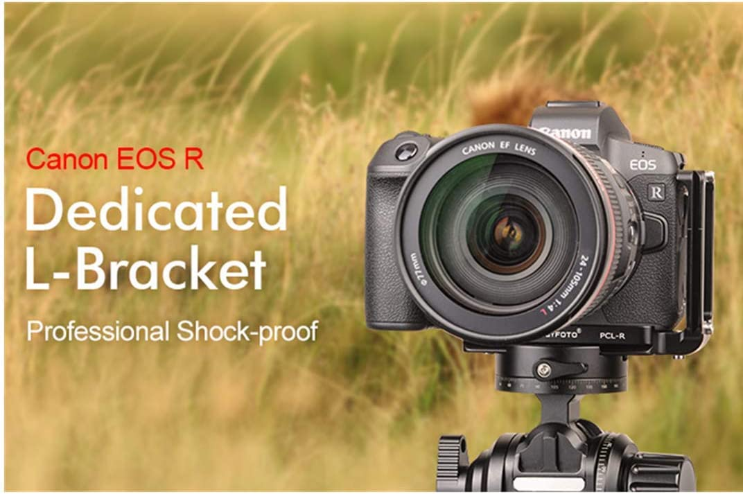 SUNWAYFOTO Special quick release L stand Dedicated L-Bracket for Canon EOS R