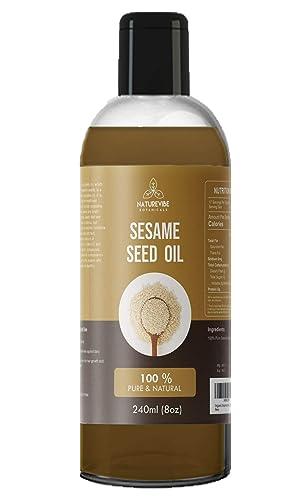 Naturevibe Botanicals Sesame Seed Oil