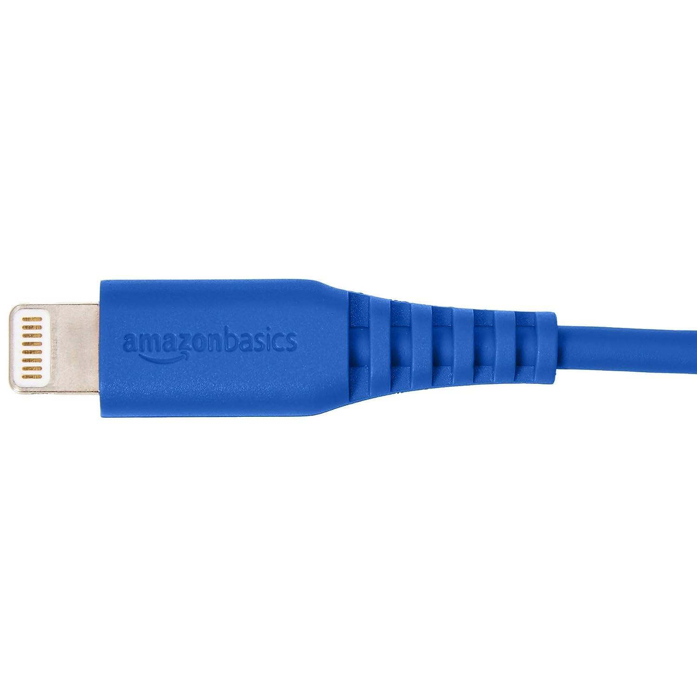 Blau Basics Lightning auf USB A Kabel Apple MFi Zertifiziert 0,9 m 1er Pack