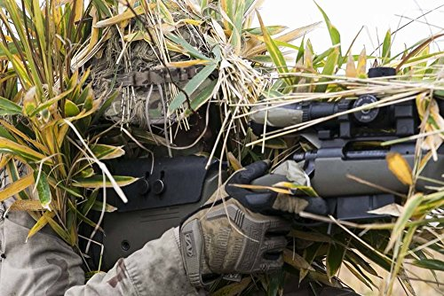 ZAPT Boonie Hat Military Camo Cap Hunter Sniper Ghillie Bucket Hats ... d0237b8d4071