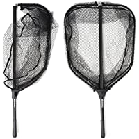 BLISSWILL Large Fishing Net Collapsible Fish Landing Net...