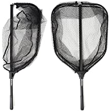 BLISSWILL Fish Net Collapsible Fish Landing Net with Extending Telescoping Pole HandleSafe Fishing Catching and Releasing