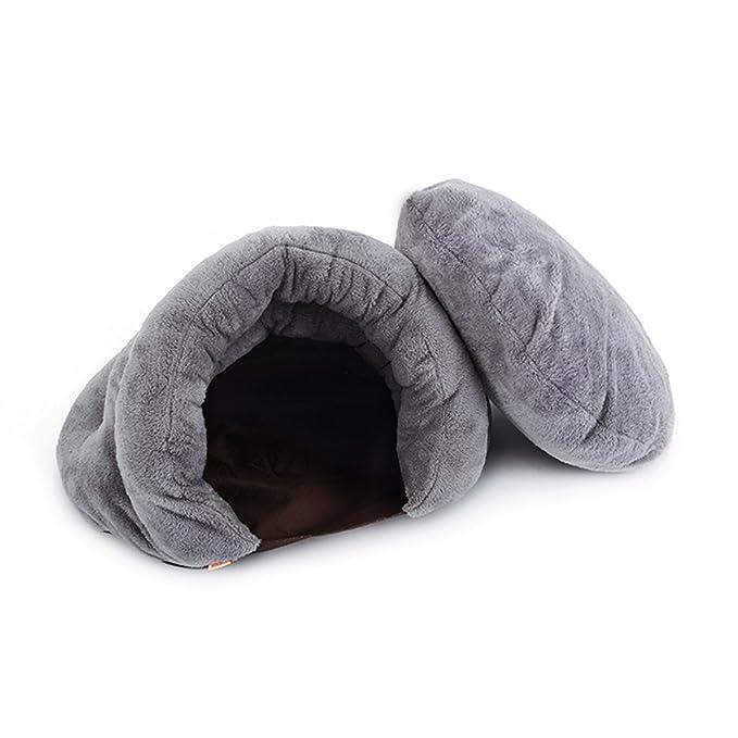 PETCUTE Cama de Gatos Saco de Dormir de Gato Cesta de Gatos cálido cojin de Gato: Amazon.es: Hogar