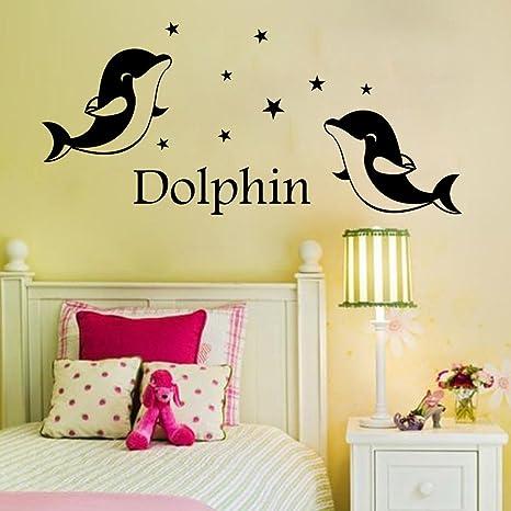 Adesivi murali camera da letto soggiorno in inglese lettere sfondo ...
