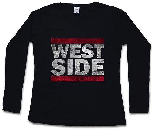 Urban Backwoods West Side Woman Donna T-Shirt A Manica Lunga – Taglie XS – 2XL