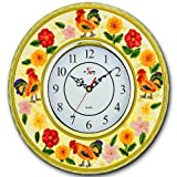 ROOSER 3-Dimensional Wall Clock BRAND NEW!