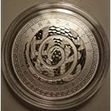 2013 $10 1/2 oz Fine Silver Coin '13 Year of the Snake Canada Chinese Character