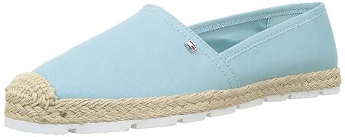 Tommy Hilfiger Basic Sporty Flat Espadrille, Alpargata para Mujer: Amazon.es: Zapatos y complementos