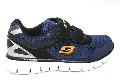 Bambino Sneakers Skechers Synergy Nero Rosso,skechers negozi
